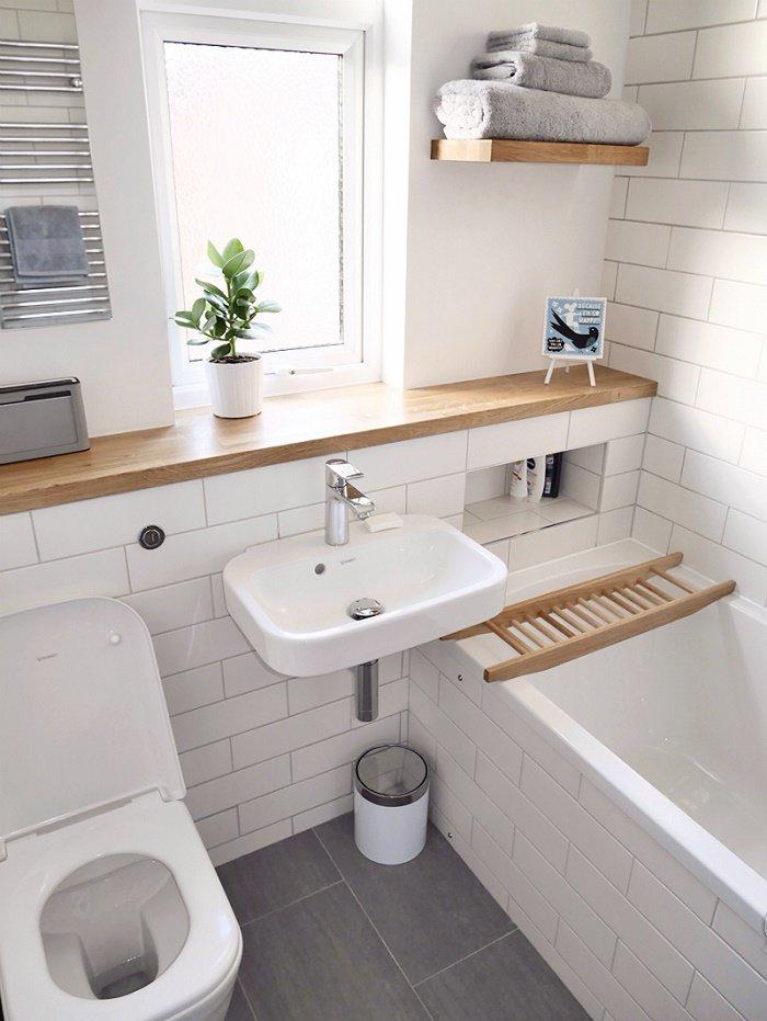 Как сделать маленькую ванную уютной и функциональной?