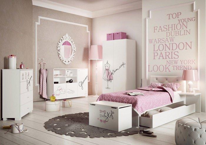 Дизайн детской для принцессы