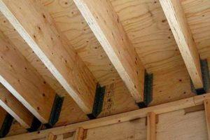 Деревянные балки перекрытия для большого пролета: Инструкции +Видео и Фото