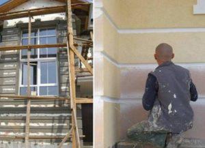 Как установить русты на фасад дома: технология, фото + Видео от лучших мастеров