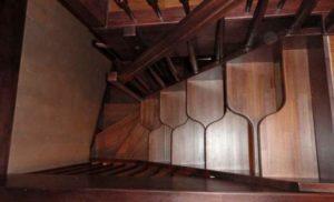 Лестница утиный шаг своими руками: обзор + видео