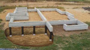 Столбчатый фундамент для каркасного дома: Быстрое выполнение своими руками- Инструкции