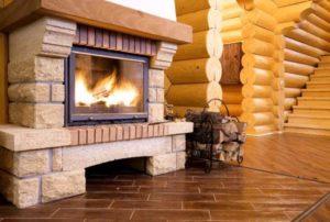 Какие существуют виды домашних каминов по типу их расположения внутри помещения?