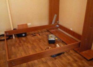 Подъемная кровать своими руками: Изготовление кровати-шкафа: Особенности конструкции +Видео