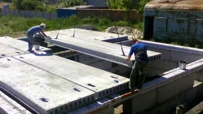 Плиты для строительства домов