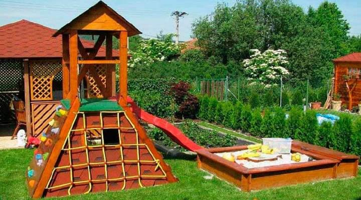 Обустройство детской площадки на даче: Советы и Идеи