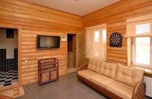 Что такое блок хаус в интерьере дома? Идеи