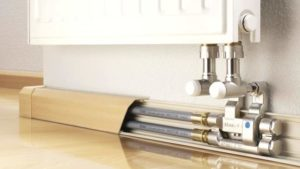 Тёплый плинтус: Бюджетную систему отопления своими руками сможет сделать каждый- Инструкции +Видео